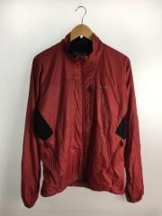 アルパインウィンドジャケット/ナイロンジャケット/M/ナイロン/RED/83850