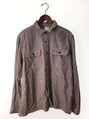 長袖シャツ/L/コットン/BRW/総柄/54130/Fjord Flannel Shirt