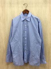 タイプライターロングシャツ/M/コットン/BLU/8311-149-0332/モンキータイム