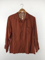 Penneys/ペニーズ/オープンカラーシャツ/開襟シャツ/M/レーヨン/ORN/タウンクラフト
