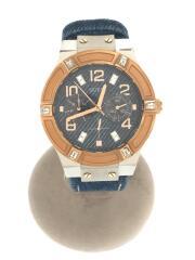 JET SETTER/クォーツ腕時計/アナログ/インディゴ/W0289L1
