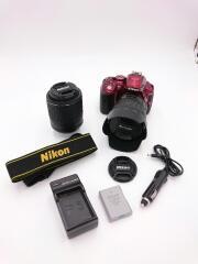 デジタル一眼カメラ D5300 18-140 VR レンズキット [レッド]