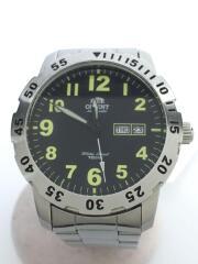 自動巻腕時計/アナログ/ステンレス/EM7A-C1-B/オリエント
