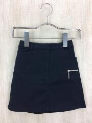 スカート/120cm/コットン/BLK/使用感有