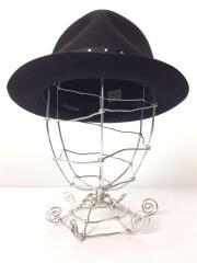 ハット/M/ウール/BLK/無地/ ワコマリア×東京 HAT ROCKERS/帽子/ドットリボン