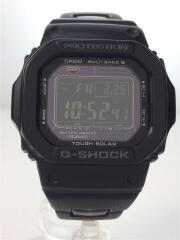 ソーラー腕時計・G-SHOCK/デジタル/BLK/カシオ/GW-M5610BC-1JF/ブラック/中古