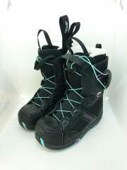 スノーボードブーツ/23cm/クイックレーシング/BLK