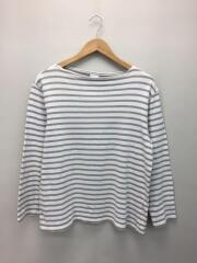 ORCIVAL◆長袖Tシャツ/--/コットン/WHT/ボーダー/バスクシャツ