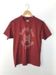 Tシャツ/40/コットン/RED/アールジェイビー