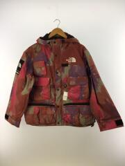 20SS/Cargo Jacket/S/ナイロン/総柄/