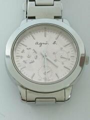 クォーツ腕時計/アナログ/ステンレス/PNK/v33j-oala
