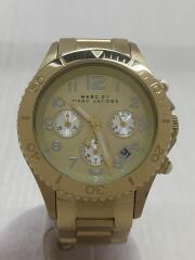 クォーツ腕時計/アナログ/ステンレス/GLD/GLD/MBM3188
