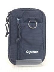 ポーチ/ナイロン/BLK/19aw small zip pouch