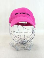 LOGO BASBALL CAP/ロゴキャップ/FREE/コットン/ピンク// /