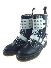 JOSKA STUD Lace-up Boots/ブーツ/US7/ブラック/レザー/25171009