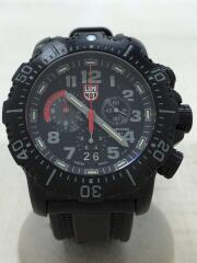 ANU CHRONOGRAPH 4240 SERIES/クォーツ腕時計/アナログ/ラバー/4242