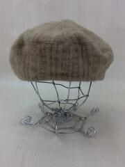 ベレー帽/--/ウール/BEG/汚れ有り