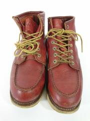 ブーツ/US7.5/レザー/8875/裏スクエア犬タグ/アイリッシュセッター/赤茶//ワークブーツ IRISH SETTER  モックトゥ 犬タグ