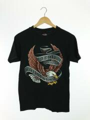 Tシャツ/L/コットン/USA/レプリカ/プリントT/イーグル/両面プリント