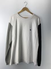 長袖Tシャツ/XL/コットン/WHT/C3-R405