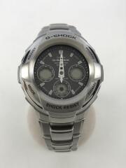 ソーラー腕時計・G-SHOCK/デジアナ/SLV/GW-1800DJ/ジーショック