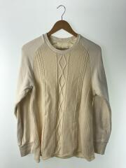 セーター(薄手)/ニット/3/ウール/CRM/スウェット