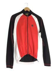 RAUTECH CAMPAGNOLO/自転車 サイクリングジャージ RAUTECH ブラック レッド