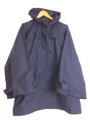 8604-14451 アウトドアコート/M/ポリエステル/NVY レインコート 雨具