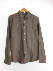 長袖シャツ/M/コットン/BRW 53941FA13 ワークシャツ