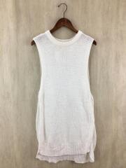Cottonlinen Knit Vest/コットンリネンニットベスト/フリー/リネン/ホワイト/11920511