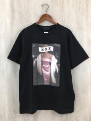 GOD SELECTION XXX/Tシャツ/M/コットン/ブラック/zoetrope別注/マリリン・モンロー