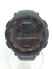 VECTOR クォーツ腕時計 ベクター ブラック オレンジ デジタル