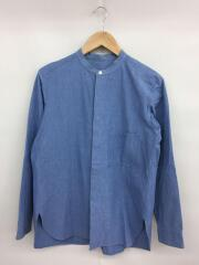 15ss/バンドカラー/長袖シャツ/1/コットン/BLU/水色/15SUS02