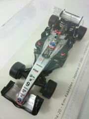 1/43 McLaren MP4-20 K.Raikkonen 2005 日本GP キミ・ライコネン マクラーレン