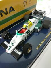 1/43 Williams FW08C A.Senna 1983 540834301 ミニチャンプス セナ