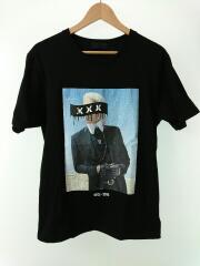 Tシャツ/XL/コットン/BLACK/ブラック/プリント/黒/フォトT/2013-2019