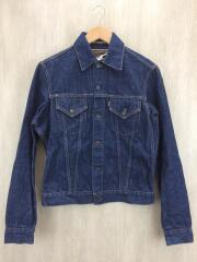 Denim Dechatable Collar JK/Gジャン/38/コットン/IDG/