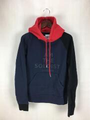 18AW/multicolor pullover hoodie/パーカー/46/ネイビー/0007AW18/プルオーバー