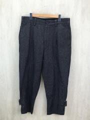 ×BEAMS/STRAP PANTS/18SS/M/コットン/ブラック