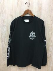 17SS/Team Sonido/ロンT/長袖Tシャツ/M/コットン/ブラック