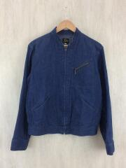 Zipper Jean Jacket/S/デニム/IDG