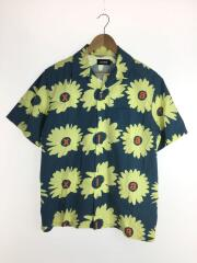 20SS/DAISY S/S SHIRT/M/コットン/NVY/総柄