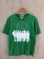 Tシャツ/4/コットン/GRN