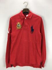 ラガーシャツ/ポロシャツ/S/コットン/RED
