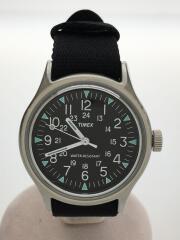 SS Camper/TW2R58300/クォーツ腕時計/アナログ/キャンバス/BLK/BLK