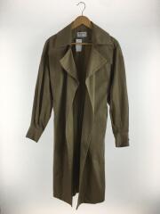 18SS/loose long trench coat/FREE/ポリエステル/BEG