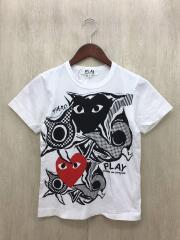 ×岡本太郎/Tシャツ/S/コットン/WHT/AJ-T001