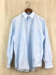 NEON SIGN/DRESS SHIRT/44/コットン/BLU