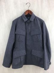 Super100'S wool fatigue jkt/KS6FSHIPS02/36/ウール/グレー