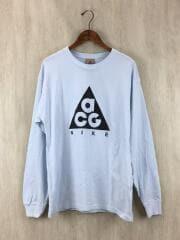 19AW/NIKE AS M NRG ACG LS TEE LOGO/長袖Tシャツ/ロンT/S/コットン/BLU